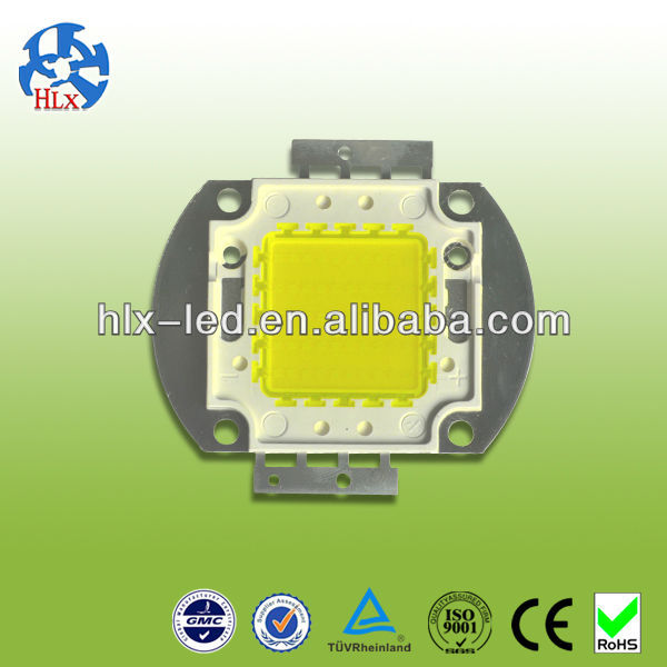 high lumen Bridgelux /Epistar 110-120lm/w 100W high power led supplier