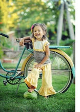 100% cotton material girls spring boutique clothing