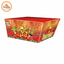 Wholesale Christmas Outdoor 100s Fan Shape Cake Fireworks