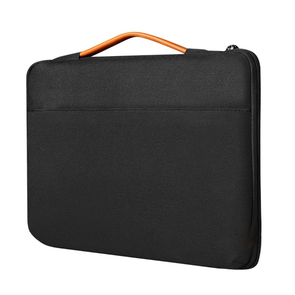 Shockproof Laptop Sleeve Case Briefcase for 14 Inch Laptops with Extra Storage Space