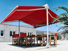 Electric Foldable Beach Sunshade/Swimming Pool Standing Awning