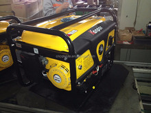 Home and outdoor use portable low price 2.8kw gasoline generator 5.5hp with wheels and handle