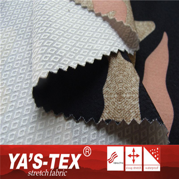 China Manufacturer Polyester Woven Military Printed Camouflage Fabric For Tent Fabric