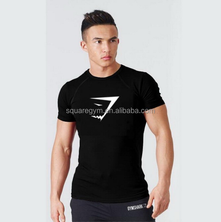 New fashion gym blank men v-neck t <strong>shirt</strong>