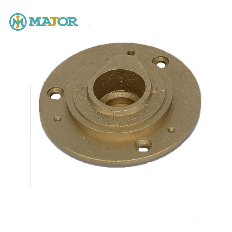 Brass die-casting and machining water meter box cover