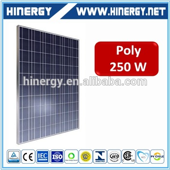 Cheap price poly 250w solar panel and batteries 250w poly wafer solar panels solar system