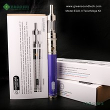 E-cigarette Paypal Accepted EGoII Variable Voltage Twist Mega E-cigarette Ego Ecig Paypal Accepted