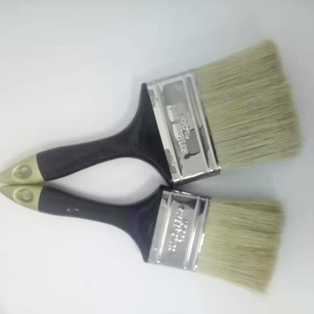 1'1/2Natural Wooden Paint Brushes with Boar Hair SQ-02