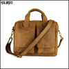 Trend leather messenger handbag for men
