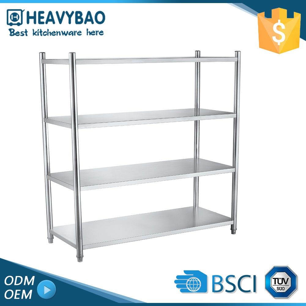 Elegant Top Quality Stainless Steel Buffet Ware Aluminum Angle Sample Rack Shelf Supports For Shelves Shelf