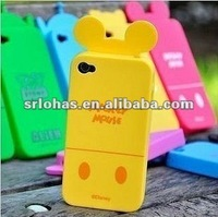 Rubberized Colorful case protect Silicone cover for Iphone