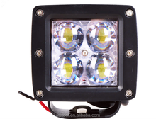 55W car LED square working light spotlight roof headlights SUV off-road modified headlights