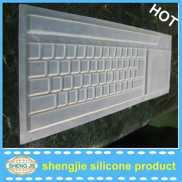 Caucho de silicona transparente teclado cubre para escritorio protectores de teclado - Cubre escritorio ...