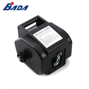 BADA 12V DC high quality power construction wire rope electric winch