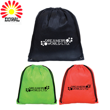 Customized Printed Fashion and Convenient School Drawstring Bag