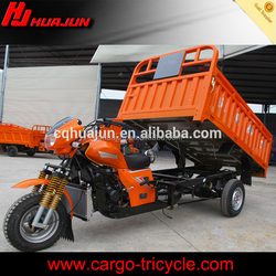 self-dumping three wheel vehicles, hydraulic tricycle three wheeler for sale
