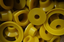 Custom Polyurethane Suspension Bushings for Cars
