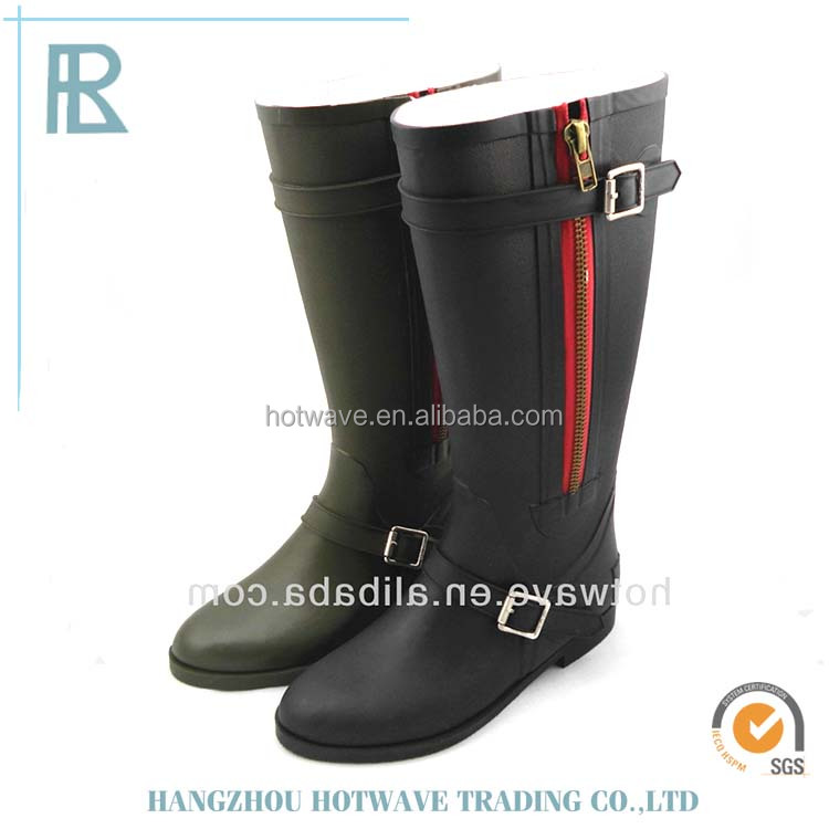 2016 new style women fashion rainboots/rubber boots
