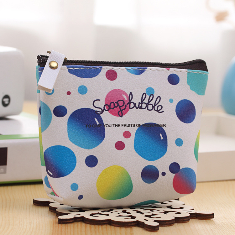 Multi-color style fashion coin purse