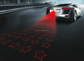anti collision LED laser stop signal fog light red color