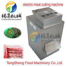 Full-automatic meat slicer/meat cube cutting machine/meat processing plant