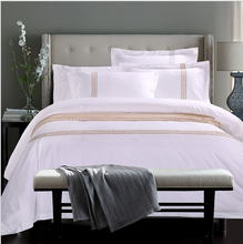bed linen high quality cheap price Hotel bedding set from Nantong bed linen
