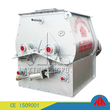 Dry mortar double shaft paddle mixer Twin shaft forced concrete mixer