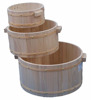 Promotion wooden barrel wooden bucket for massage