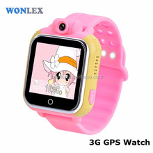 touch screen kids smart watch gift watch phone , android GPS smart watch with heart rate