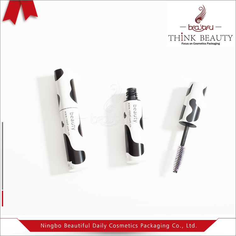 8ml/0.28oz irridescent high gloss chubby mascara/eyebrow/eyelash empty packaging/container/tube/bottle