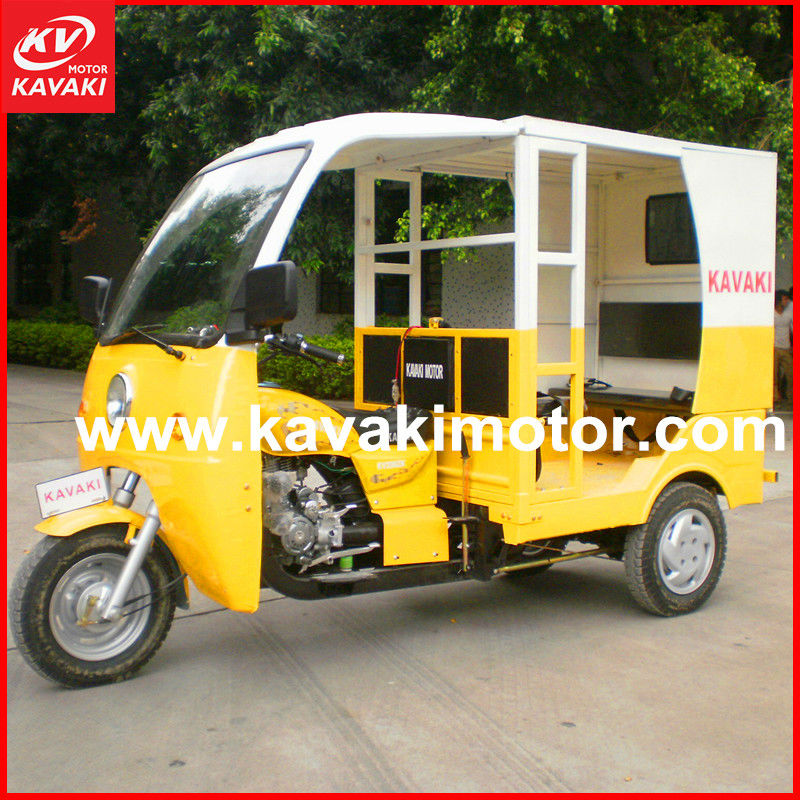 KV150cc/200cc ZH-ZK new tvs three wheel passenger tricycle made in china