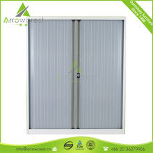 Space saving roller shutter door combination lock filing cabinet