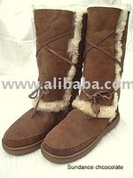 Sundancer sheepskin boots