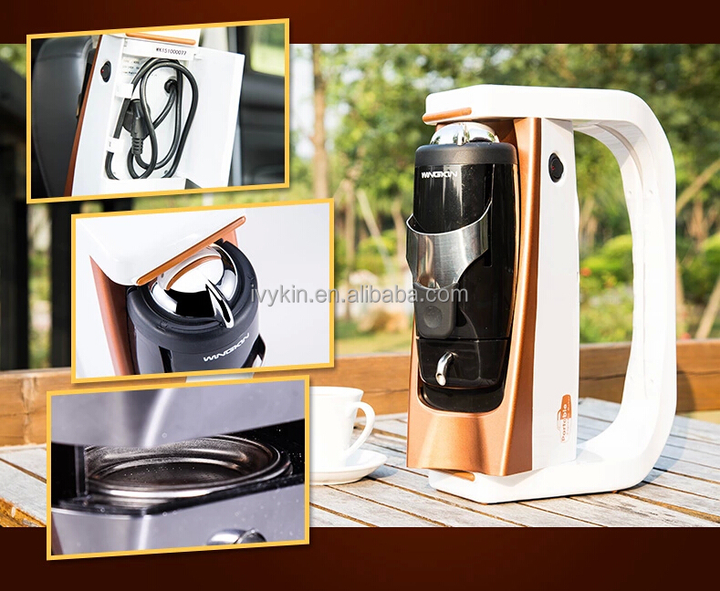 mini portable espresso 12 v voiture ese pod machine caf machine caf id de produit. Black Bedroom Furniture Sets. Home Design Ideas
