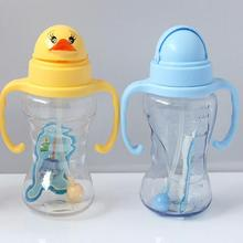 100794 kids water bottles bulk,plastic cup with straw for kids,kids cup with handle baby drinking bottle