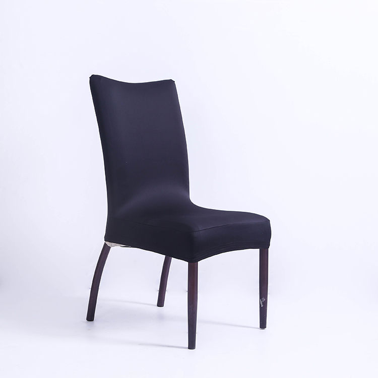 Good quality church outdoor banquet black spandex chair cover