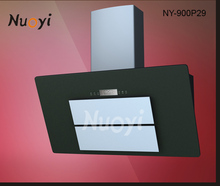 2014 latest design!90mm kitchen range hood with led lighting/wall mounted pacific cooker hoods