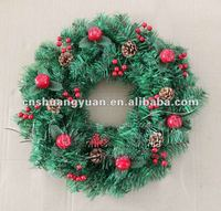 2015 environmental christmas wreaths