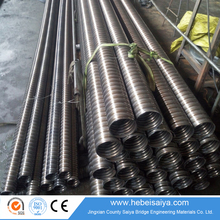 Round & Flat Post Tensioning Metal Corrugated Pipe for Concrete