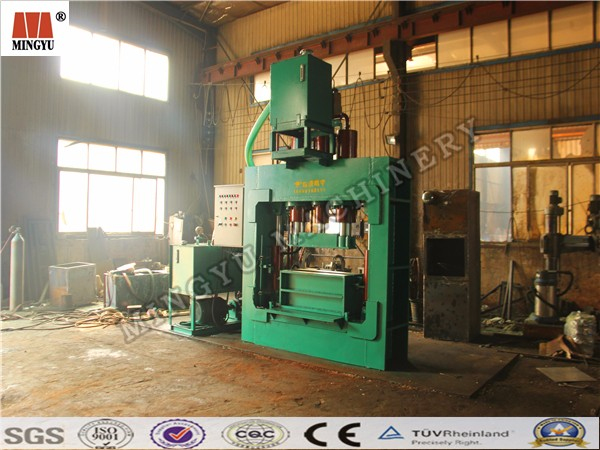 Top quality Horizontal Hydraulic coconut dust baling machine/coir fiber baling machine
