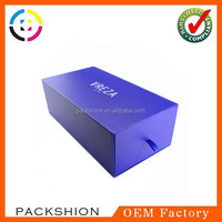 Factory Sale Pantone Color Slide Box Packaging for Shoes