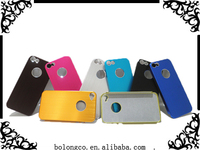 For iphone 5 cellphone accessory fancy plastic aluminium back case cell phone cover cellular from china wholesale
