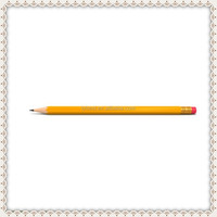 Top quality cheaper price standard size shape HB wooden pencil with logo,OEM Pencil manufactory