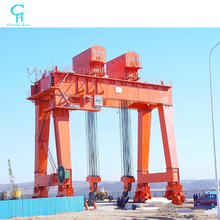 Heavy duty double girder gantry crane 100 ton with two trolley