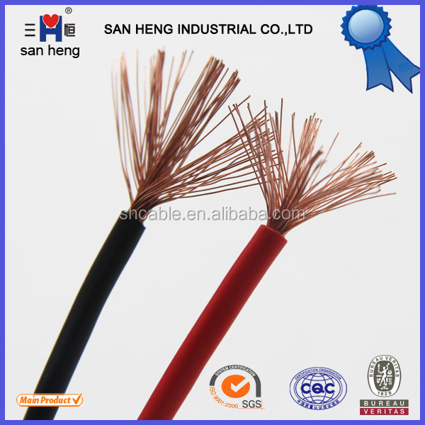 round stranded copper conductor pvc insulated flexible cabling made in China