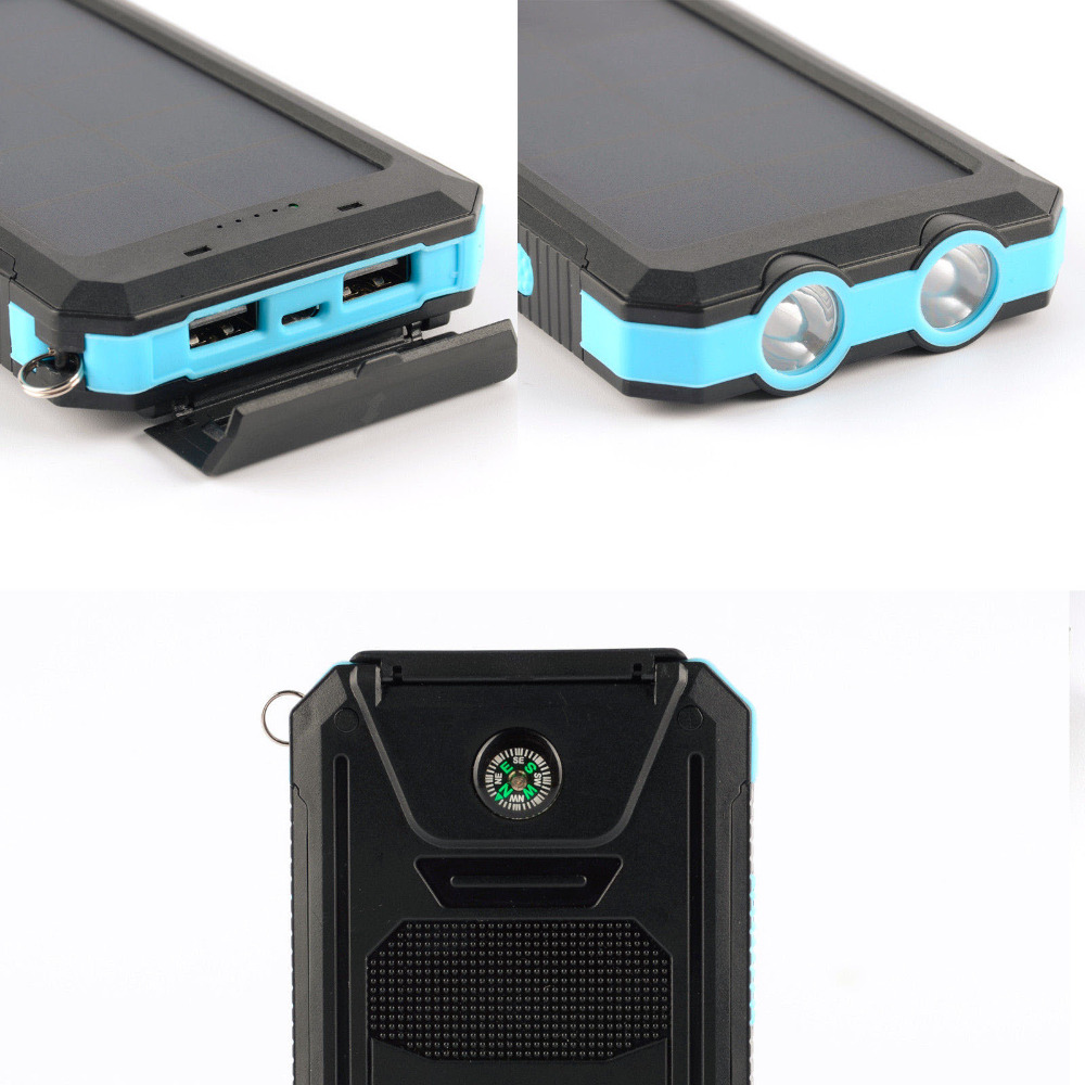Promotion Outdoor 12000mAh Solar Charger Mobile Phone Power Banks