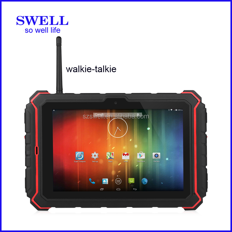 tablet cover ip67 1G+16G 8inch T82 15000Mah Battery NXP547 NFC built in gps accelerometer