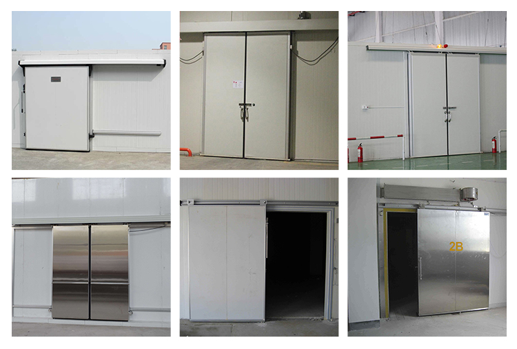 zipper fast cold storage door