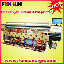 Challenger /Infinitin FY-3206R 3.2m digital flex banner printing plotter (,6head ,6color ,high speed)