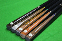 Professional Handmade 3/4 jointed ash wood snooker cue, billiard cue